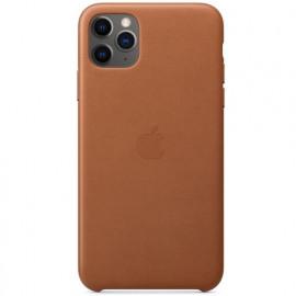 Apple Leder Hülle iPhone 11 Pro Max Braun