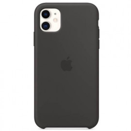 Apple Silikon Hülle iPhone 11 schwarz