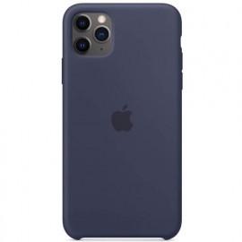 Apple Silikon Hülle iPhone 11 Pro Max mitternachtsblau
