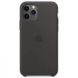 Apple Silikon Hülle iPhone 11 Pro Max schwarz