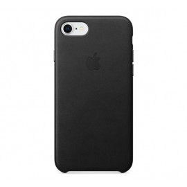 Apple iPhone 7 / 8 / SE 2020 Lederhülle schwarz