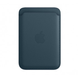 Apple Leder Kartenhalter MagSafe für iPhone Baltic Blue