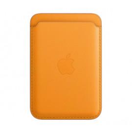 Apple Leder Kartenhalter MagSafe für iPhone California Poppy