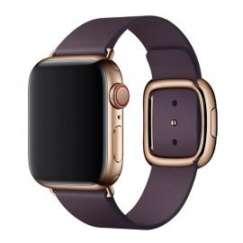 Apple Modern Buckle Apple Watch Armband Medium 38mm / 40mm Aubergine