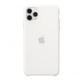 Apple Silikon Case iPhone 11 Pro Max Weiß
