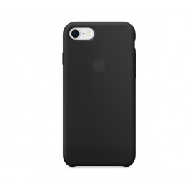 Apple silicone case iPhone 7 / 8 / SE 2020 Schwarz