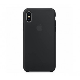 Apple Silikon Hülle iPhone X / XS schwarz