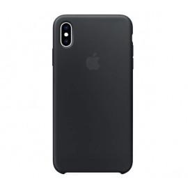 Apple Silikonhülle iPhone XS Max Schwarz