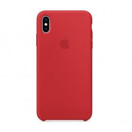 Apple Silikonhülle iPhone XS Max Rot