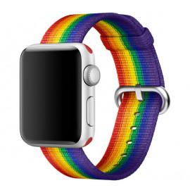 Apple Woven Nylon Apple Watch Armband 38mm / 40mm Pride Edition