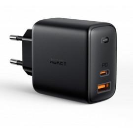 Aukey 2 Port quick charge Ladegerät 65W (USB A + USB C)
