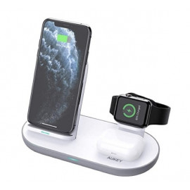 Aukey 3-in-1 Wireless Charger Station