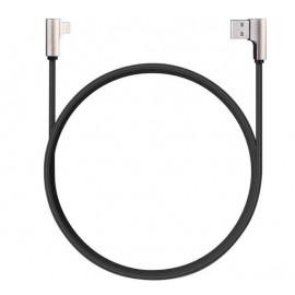 Aukey 90° USB-A zu Lightning Kabel 1.2m schwarz