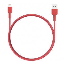 Aukey USB-A auf MFI-Lightning Kabel 1.2m rot