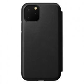 Nomad Rugged Folio Lederhülle iPhone 11 Pro schwarz