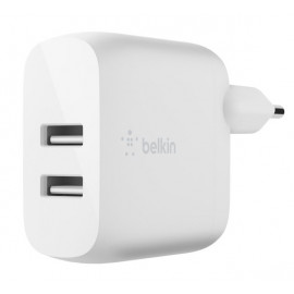 Belkin Boost Charge Dual USB-A Ladegerät 24W + Lighting Kabel