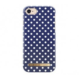 iDeal of Sweden iPhone 7 / 8 blue polka dots