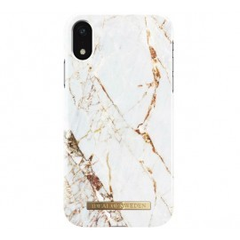 iDeal of Sweden iPhone XR Marmor gold