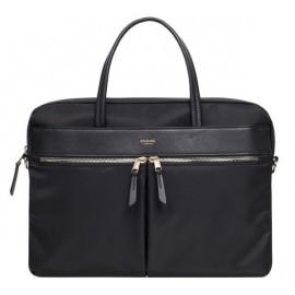 Knomo Hanover Slim Briefcase 14'' schwarz
