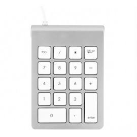 Satechi Aluminium USB Numeric Keypad Tastatur silber (Nummernblock)