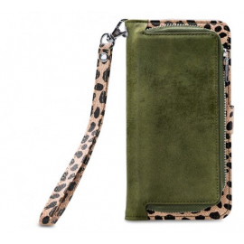 Mobilize 2in1 Gelly Wallet Zipper Case iPhone 6/6S/7/8 Plus Olive / Leopard