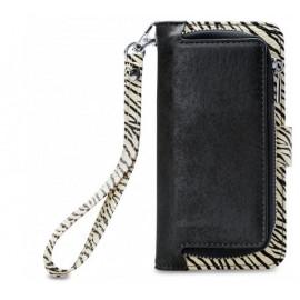 Mobilize 2in1 Gelly Wallet Zipper Case iPhone 6/6S/7/8 Schwarz / Zebra