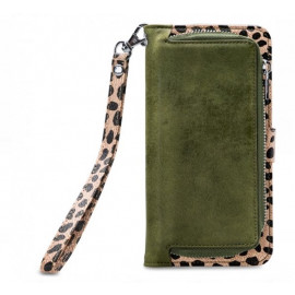 Mobilize 2in1 Gelly Wallet Zipper Case iPhone 6/6S/7/8 Olive/Leopard