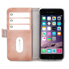 Mobilize Elite Gelly Wallet Book Hülle iPhone 6 / 6S / 7 / 8 rosa