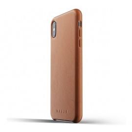 Mujjo Leather Case iPhone XS Max braun