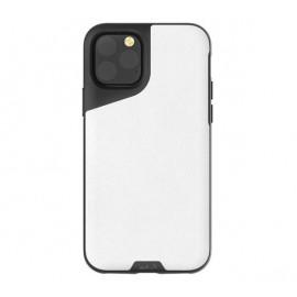 Mous Contour Leder iPhone 11 Pro Max weiß