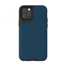 Mous Contour Leder iPhone 11 Pro Max blau