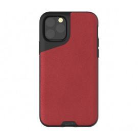 Mous Contour Leder iPhone 11 Pro Max rot