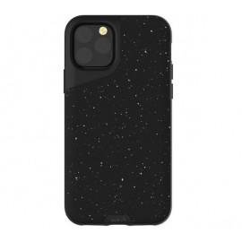 Mous Contour Leder iPhone 11 Pro Max speckled schwarz