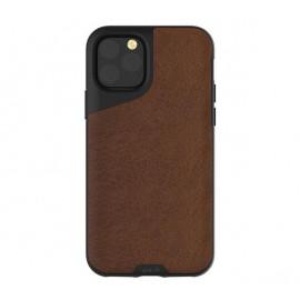 Mous Contour Leder iPhone 11 Pro Max braun