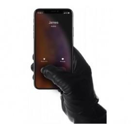 Mujjo Touchscreen Lederhandschuhe Größe 8 schwarz
