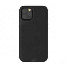 Mous Contour Leder iPhone 11 Pro Max schwarz