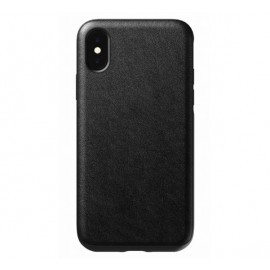 Nomad Rugged Lederhülle iPhone X / XS schwarz