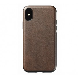 Nomad Rugged Lederhülle iPhone X / XS dunkelbraun