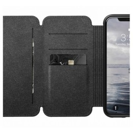 Nomad Rugged Tri-Folio Lederhülle iPhone X / XS braun