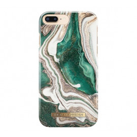 iDeal of Sweden Fashion Back Case iPhone 6 / 6S / 7 / 8 Plus Golden Jade Marble