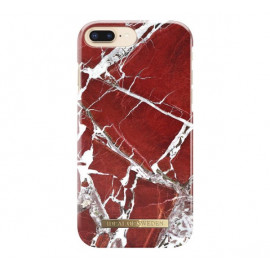 iDeal of Sweden Fashion Back Case iPhone 8 Plus /7 Plus Scarlet Red Marble