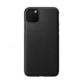 Nomad Rugged Lederhülle iPhone 11 Pro Max schwarz