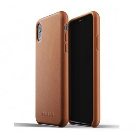 Mujjo Leather Case iPhone XR braun