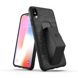 Adidas SP Grip Case iPhone XS Max Schwarz