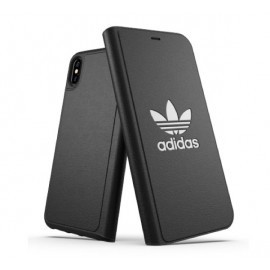 Adidas Originals Booklet Case iPhone XS Max schwarz
