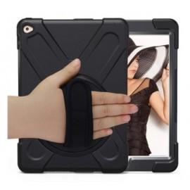 Casecentive Handstrap Hardcase iPad Pro 12,9 inch schwarz mit Handschlaufe