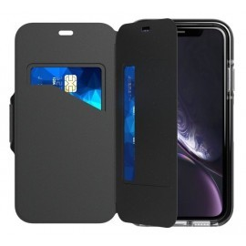 Tech21 Evo Wallet iPhone XR schwarz
