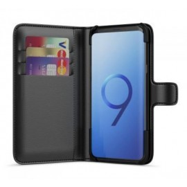 BeHello Wallet Case Galaxy S9 Plus Schwarz