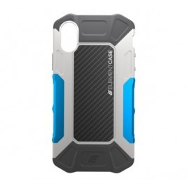 Element Formula Case iPhone X / XS Grau / Blau
