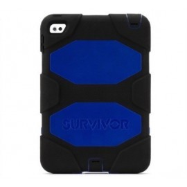 Griffin Survivor Hardcase iPad Mini 4 blau-schwarz